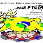 Redução ministerial: blefe ou cartada de mestre reforma politica Zé Maria: o que era ruim ficou pior Dilma cria mais um minist  rio por Sponholz