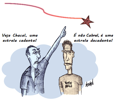 Estrela-Decadente Cabral e Chacal blog Cabral e Chacal Estrela Decadente