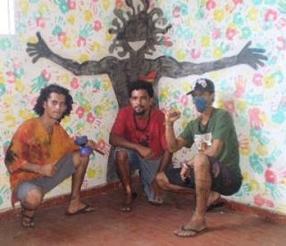 Artistas: Cleito, Flávio, Patrick ocuparte OCUPARTE: re-ocupação de prédio público ocupartianos