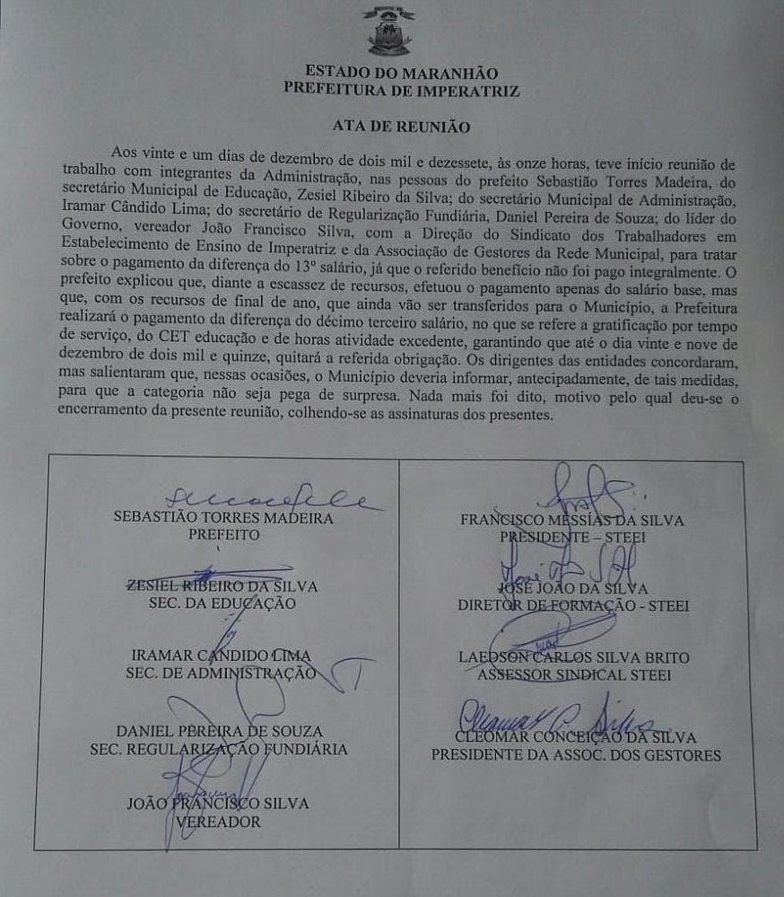prefeitura-imperatriz imperatriz Prefeitura de Imperatriz descumpre pagamento do 13º salário prefeitura imperatriz