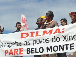 Indios-protesto-belo-monte belo monte O Brasil Grande de Dilma Rousseff* Indios protesto belo monte