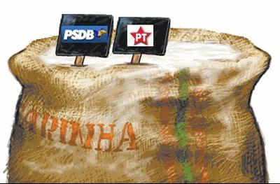 PT-PSDB pt PT protagonizou os melhores 12 anos da história do Brasil PT PSDB