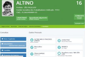 ALTINO_PSTU maranhenses Maranhenses nas disputas eleitorais pelo Brasil ALTINO PSTU