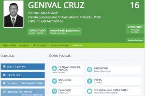 GENIVAL_PSTU maranhenses Maranhenses nas disputas eleitorais pelo Brasil GENIVAL PSTU