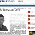 Entrevista ao jornal o Progresso, Edição 14520 voto classista Meu voto classista Jornal o progresso