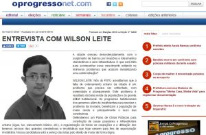 jornal_o_progresso jornal Entrevista ao jornal o Progresso, Edição 14520 Jornal o progresso