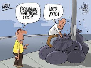 sufragio-voto-lixo sufrágio Crise do sufrágio? A burguesia pira sufr  gio voto lixo
