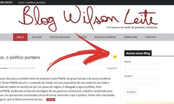 promoção Promoção do Blog Wilson Leite blog promocao